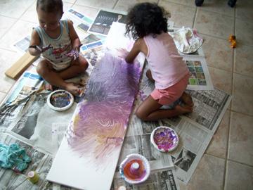 Pintando con los Dedos MSQ