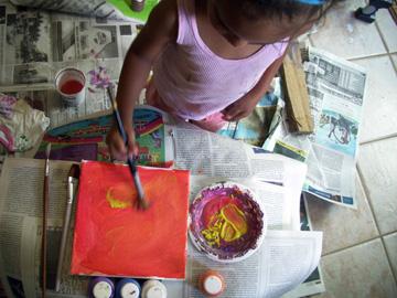 Niños Pintando MSQ