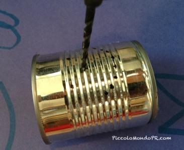 L mparas de lata piccolo mondo blog - Se puede pintar el aluminio ...
