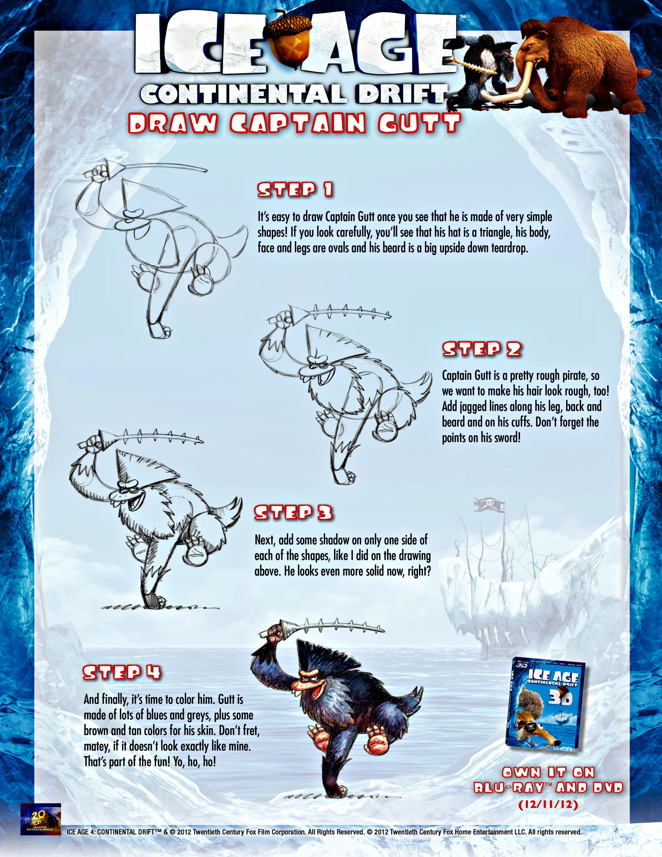 Ice Age 4, Continental Drift – Sorteo   Piccolo Mondo Blog