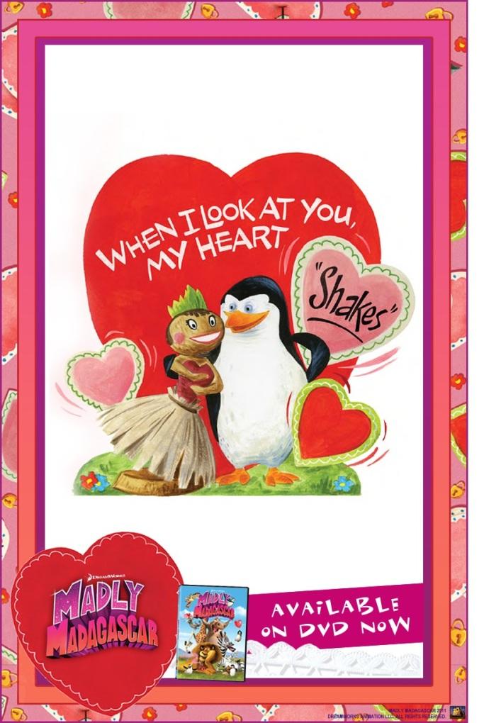 Valentine card Madagascar