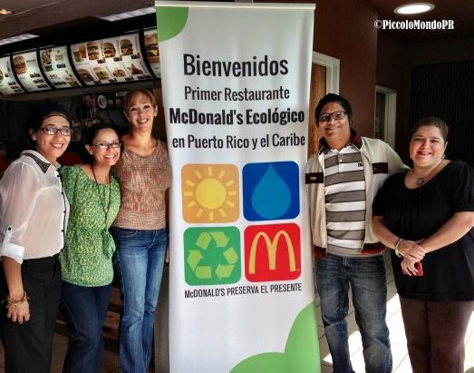 McDonalds Ecologico Blogueros
