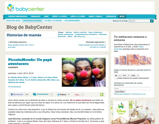 PiccoloMondoPR en Baby Center