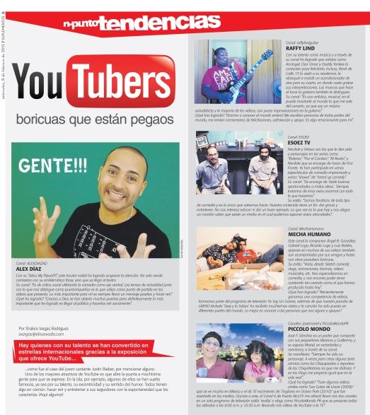 YouTubers Boricuas