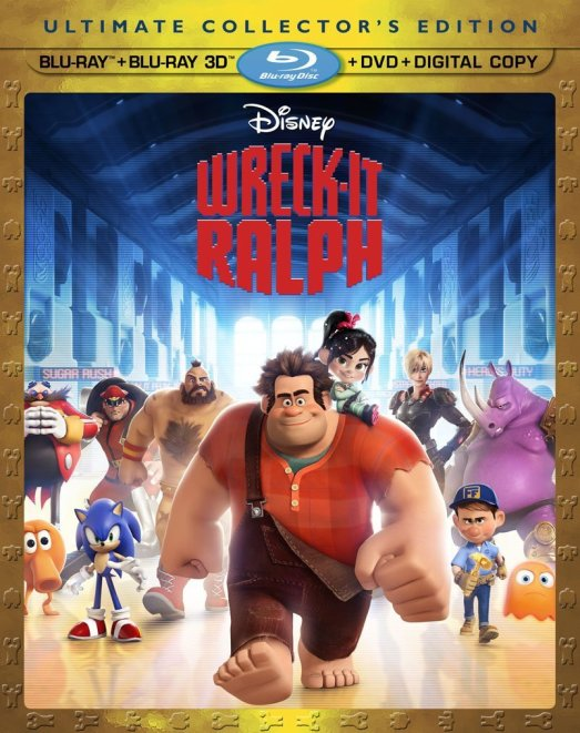 Wreck - It Ralph Combo Pack