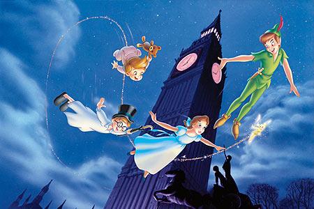 Peter Pan Here we go!!