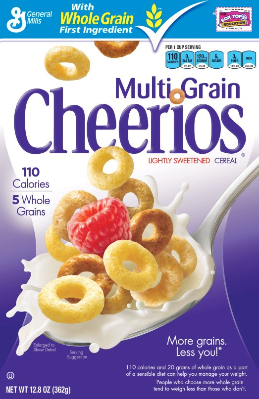 MultinGrain Cheerios