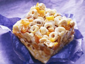 peach cereal bar
