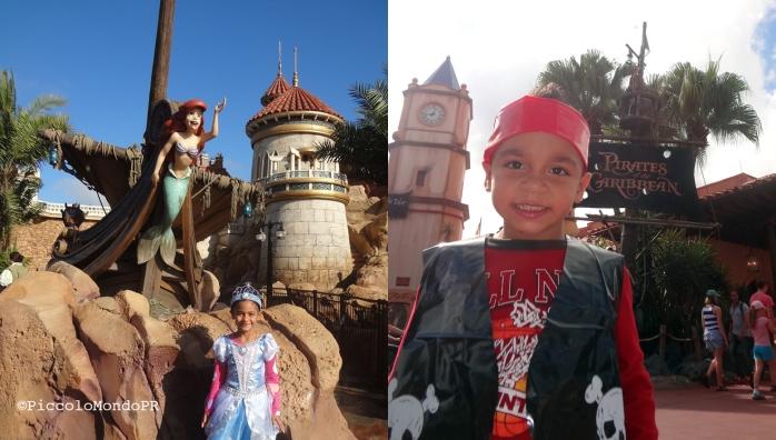 Princess & Pirate Disney kids