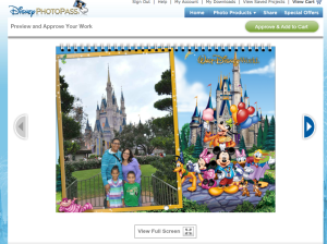 Photopass calendar Piccolo EN Disney