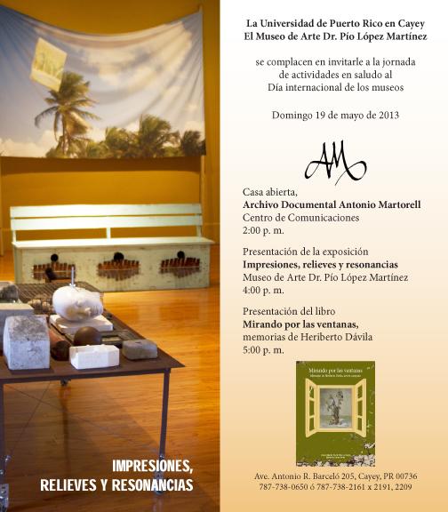 Invitacion Museo de Cayey