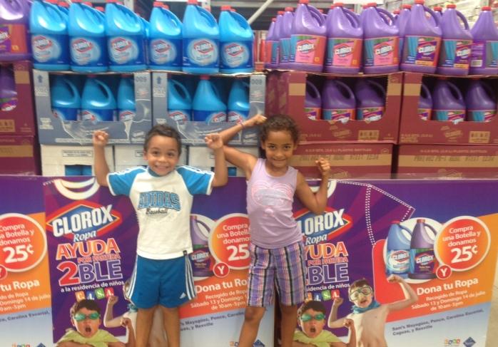 Donacion de ROPA Clorox
