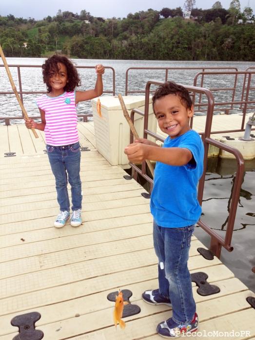 Pescando con Niños