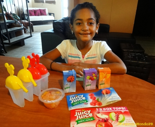 Paletas de Frutas con Juicy Juice