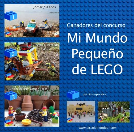 Ganadores del Concurso de LEGO