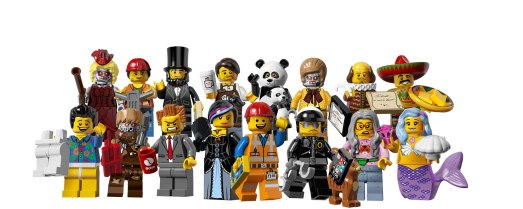 THE LEGO MOVIE MINI FIGURES