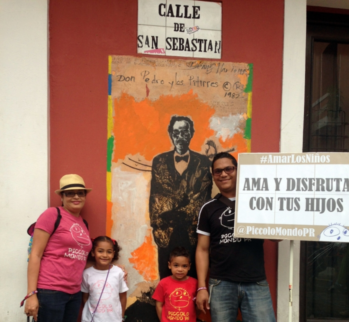Amar los Niños, Fiestas de San Sebastian