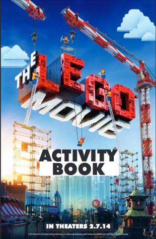 THE LEGO MOVIE ACTIVITY BOOK