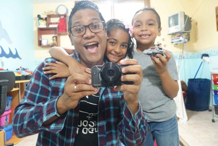 Mis chiquillos y yo
