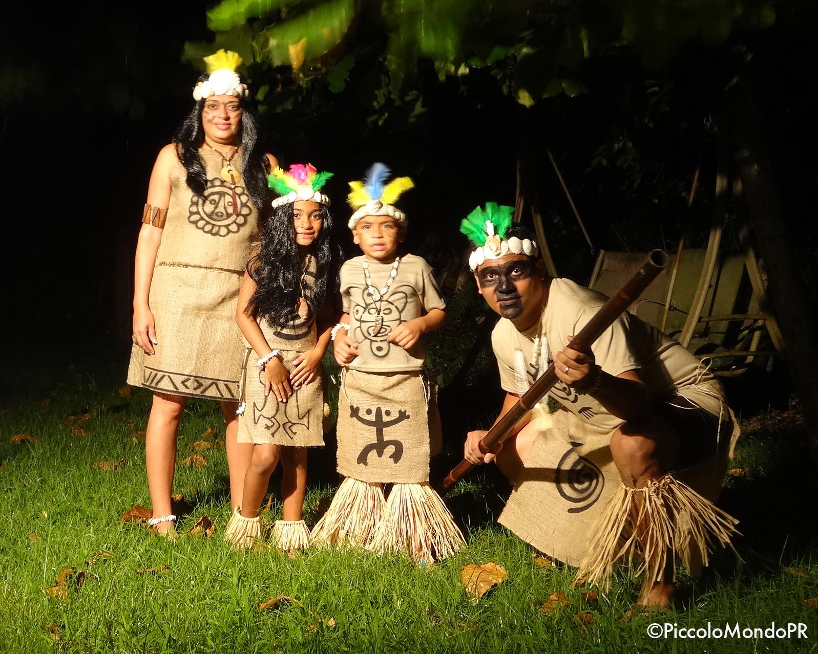 Disfraces Taínos Para La Familia Piccolo Mondo Blog