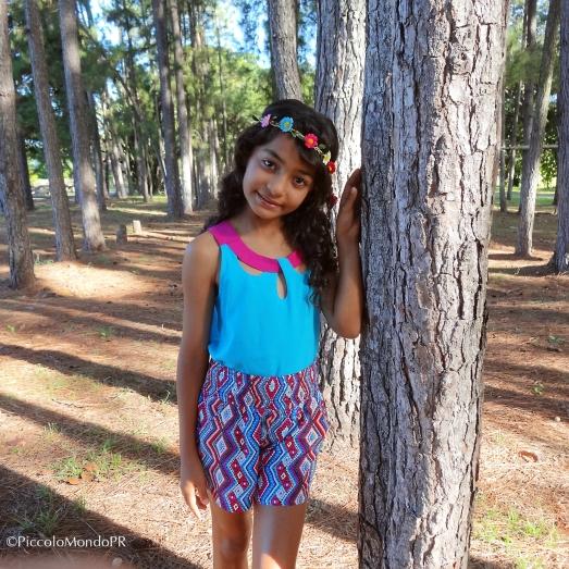 Mariana luciendo de la Colección Zuleyka Rivera 2015 para Kress