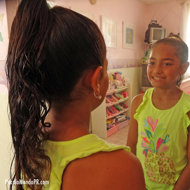 peinando a mi hija | piccolo mondo blog