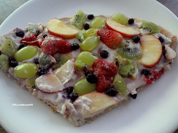Pizza Frutas