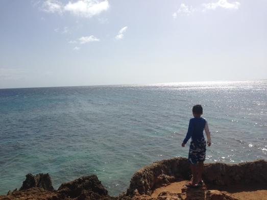 Playa Peña Blanca Aguadilla
