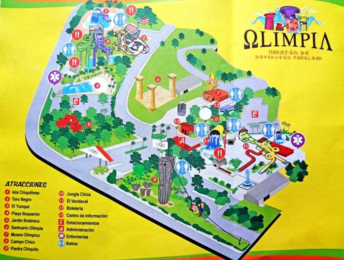 Mapa Albergue Olimpico
