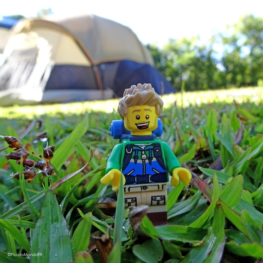 LEGO travel camping