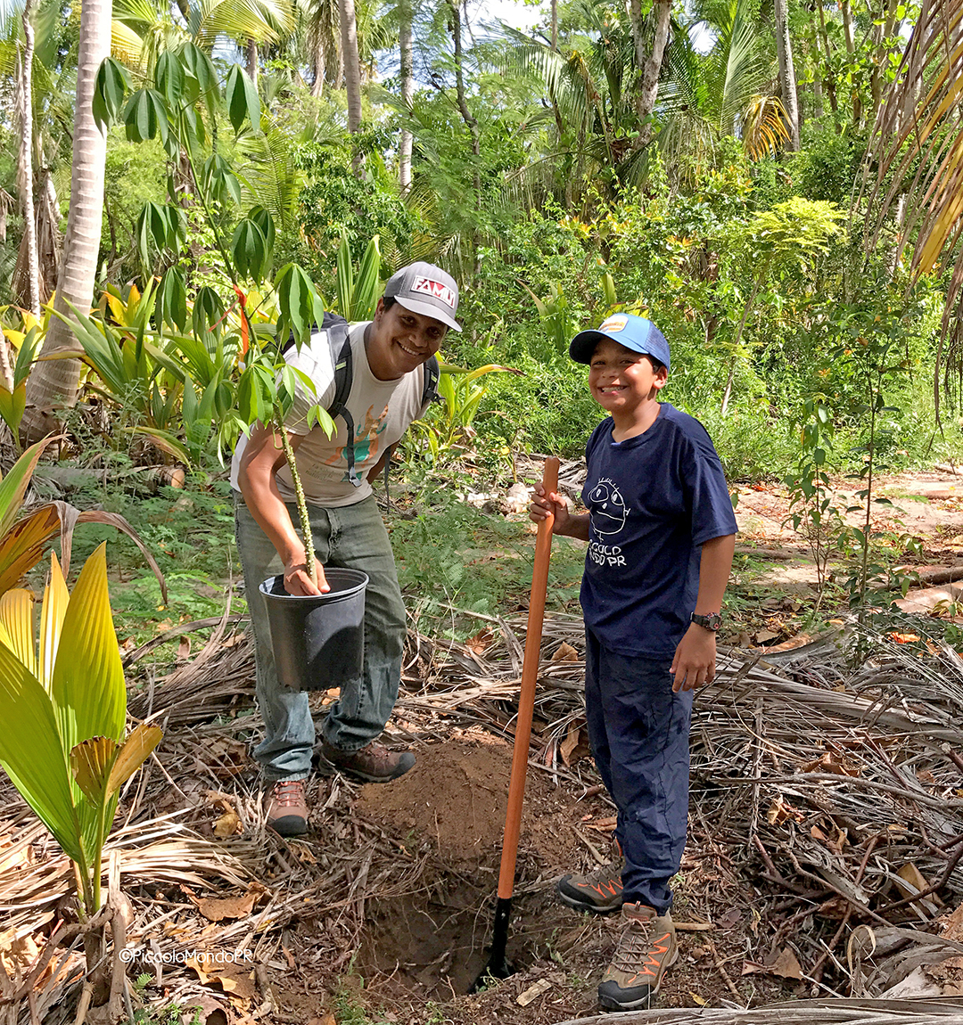 Niños voluntarios 1