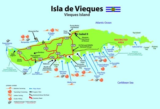Mapa-Vieques