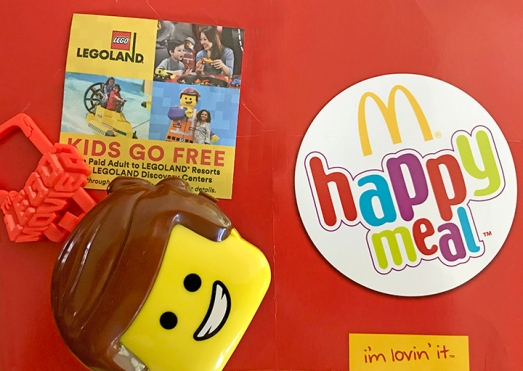 HappyMEAL MC LEGO