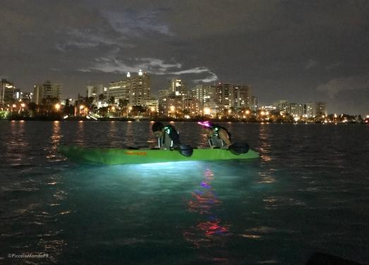 Night Kayak Condado PR PMPR