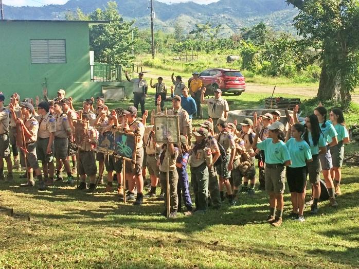 BSA Girls Scouts PMPR12